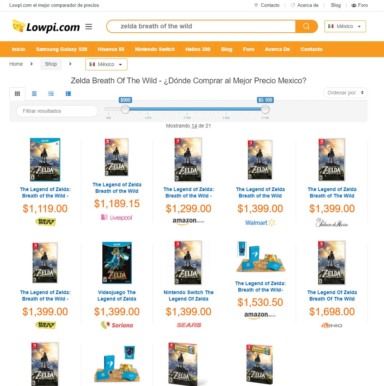 Donde Comprar Nintendo Switch al mejor precio