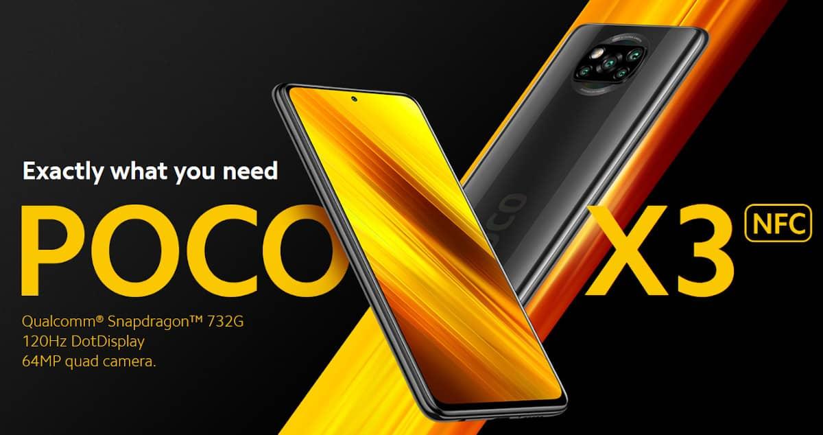 Poco X3 NFC Mexico