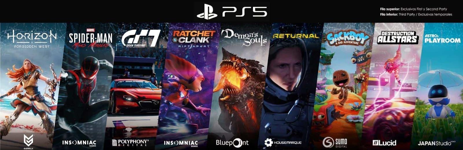 Mejores Juegos PS5