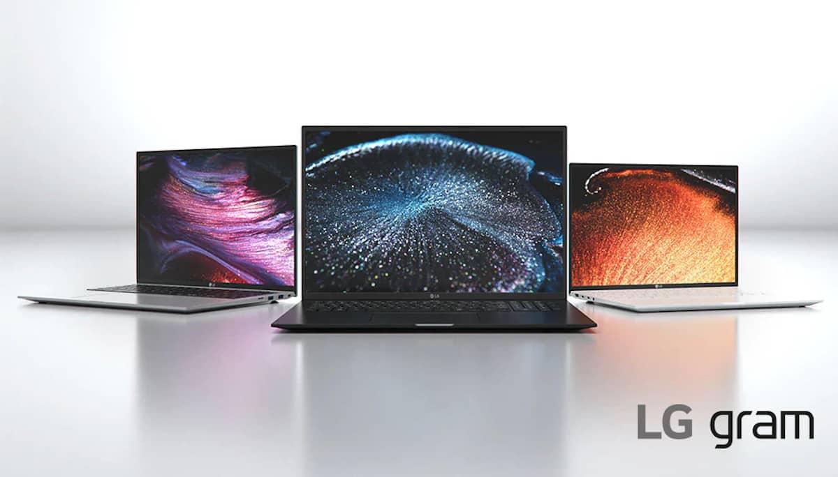 Laptop LG Gram types