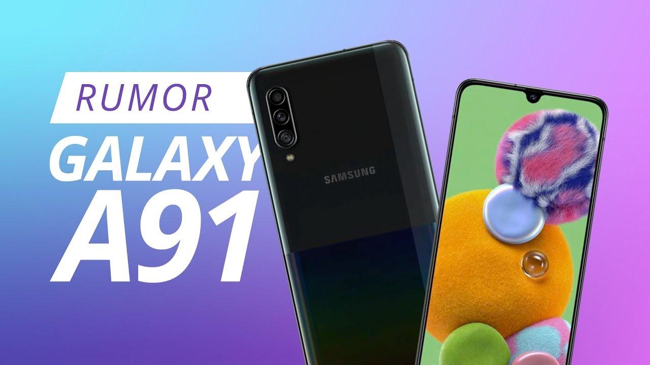 Samsung Galaxy a91 pantalla