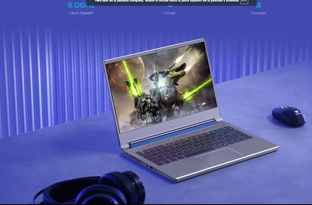 Laptop Acer Predator Triton 300 se Gaming