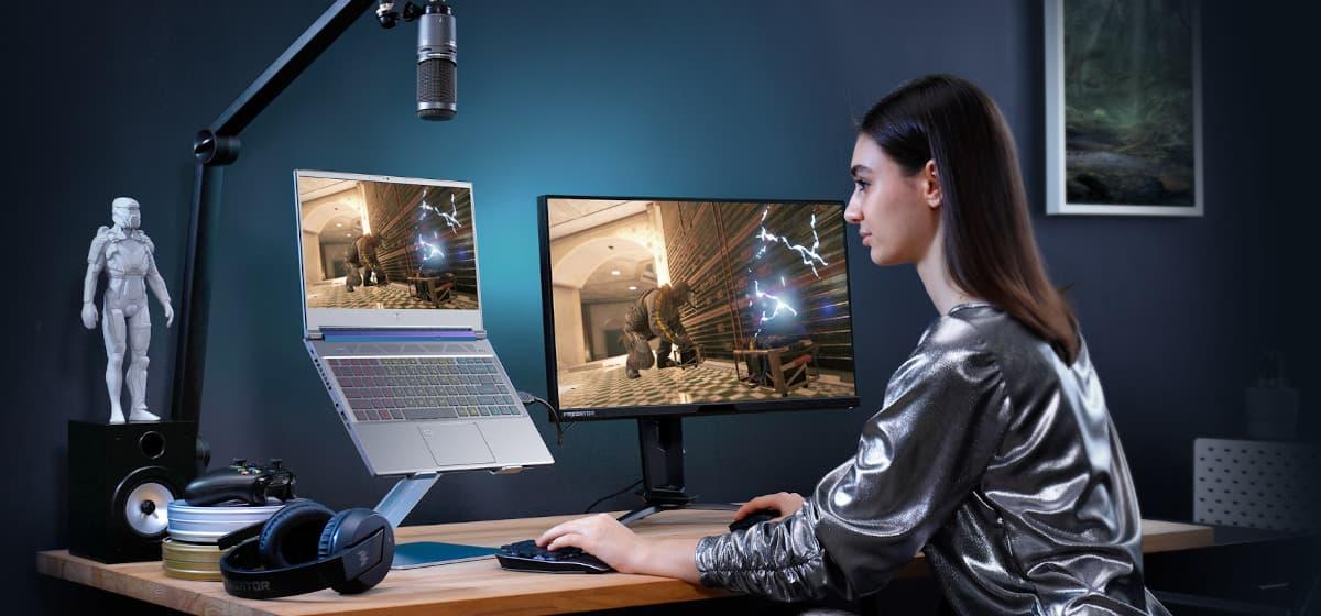 Laptop Acer Predator Triton 300 se Gaming Streaming